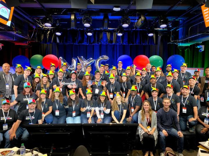 Image of the NYC19 GoogleEI Cohort members
